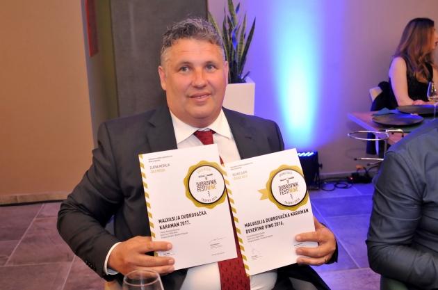 Great recognition for Niko Karaman and his Malvasija Dubrovačka!